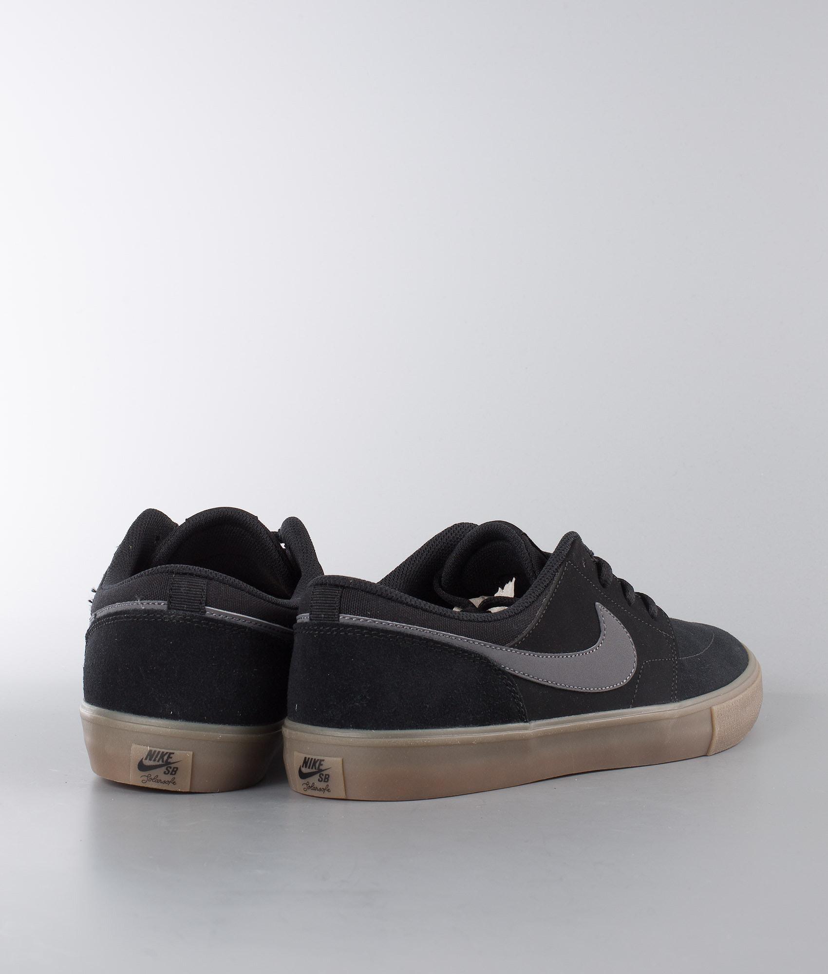 a349b4f5db241 Nike Portmore II Solar Shoes Black/Dark Grey-Gum Light Brown