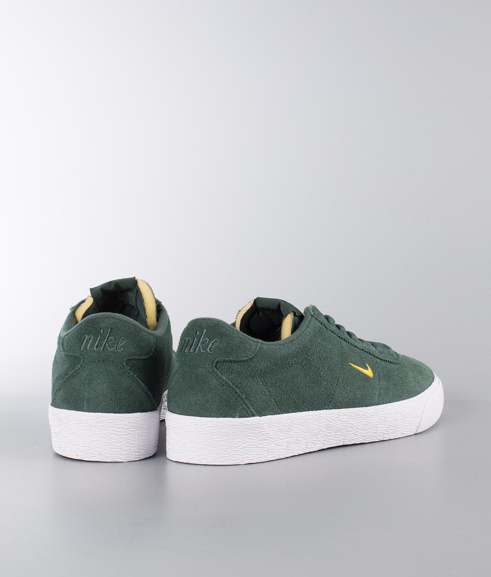 80ad96935681 Nike Zoom Bruin Shoes Midnight Green Yellow Ochre-White - Ridestore.com