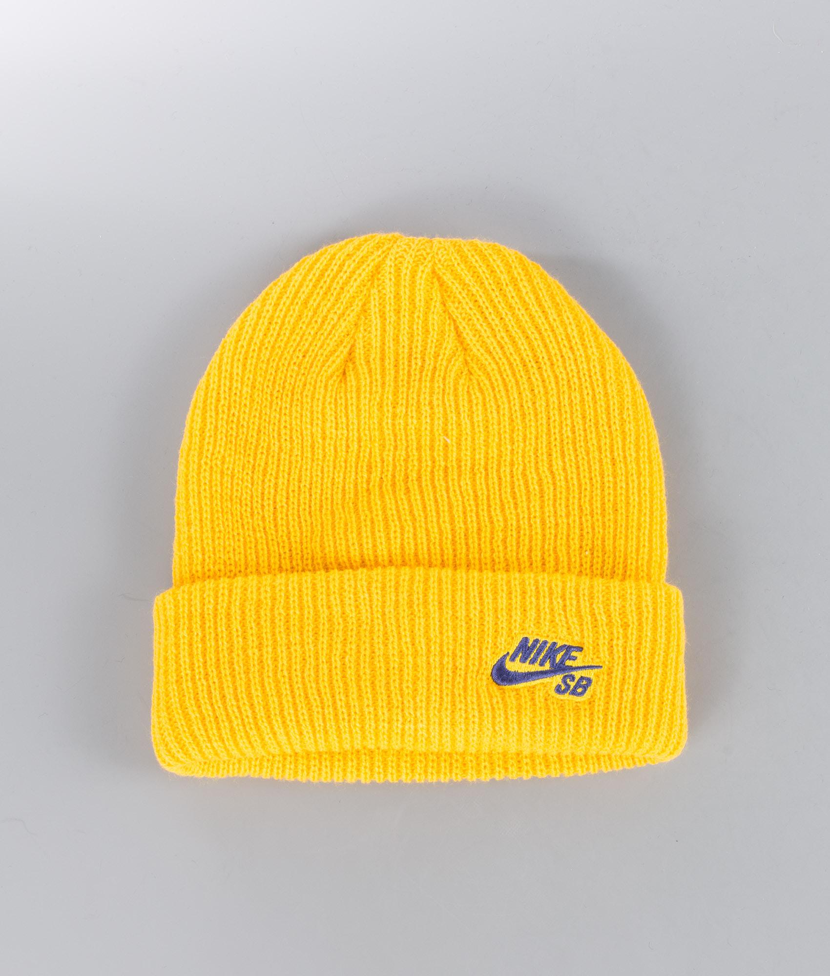 Nike Fisherman Beanie Yellow Ochre Blue Void - Ridestore.com 1cb5df4bf688