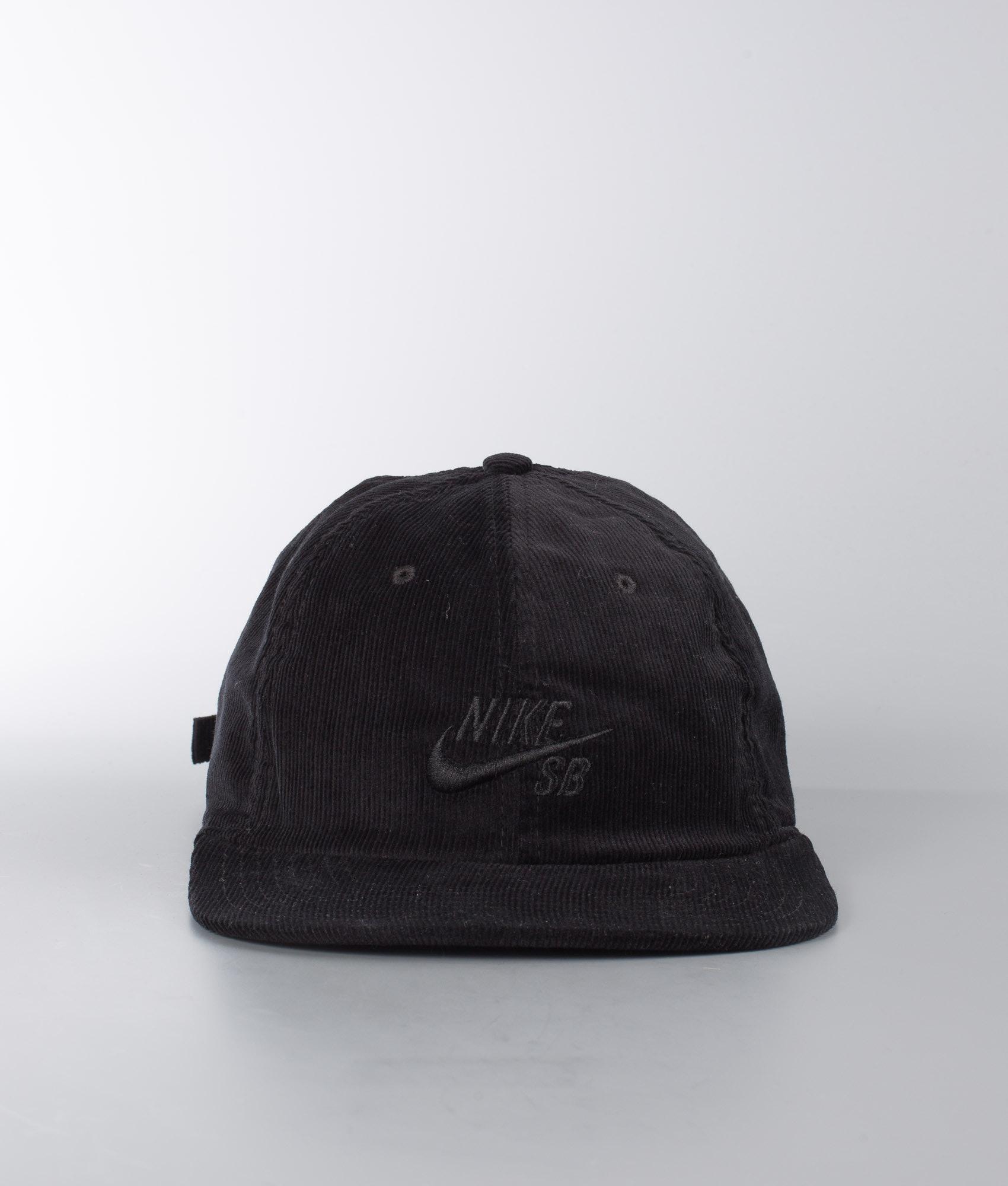 a932f89a Nike Heritage 86 Flatbill Cap Black/Black - Ridestore.com