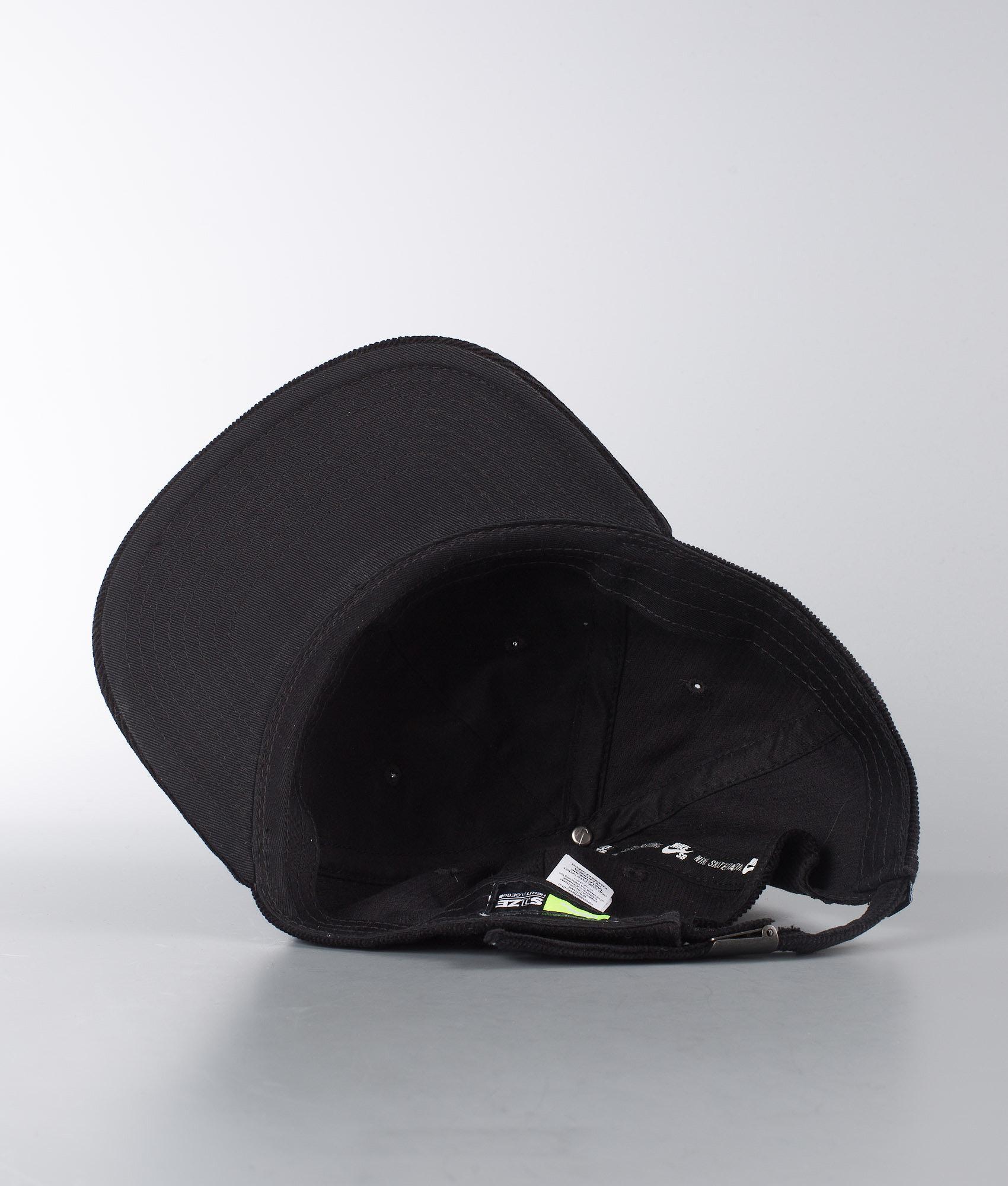 870c565b Nike Heritage 86 Flatbill Cap Black/Black - Ridestore.com