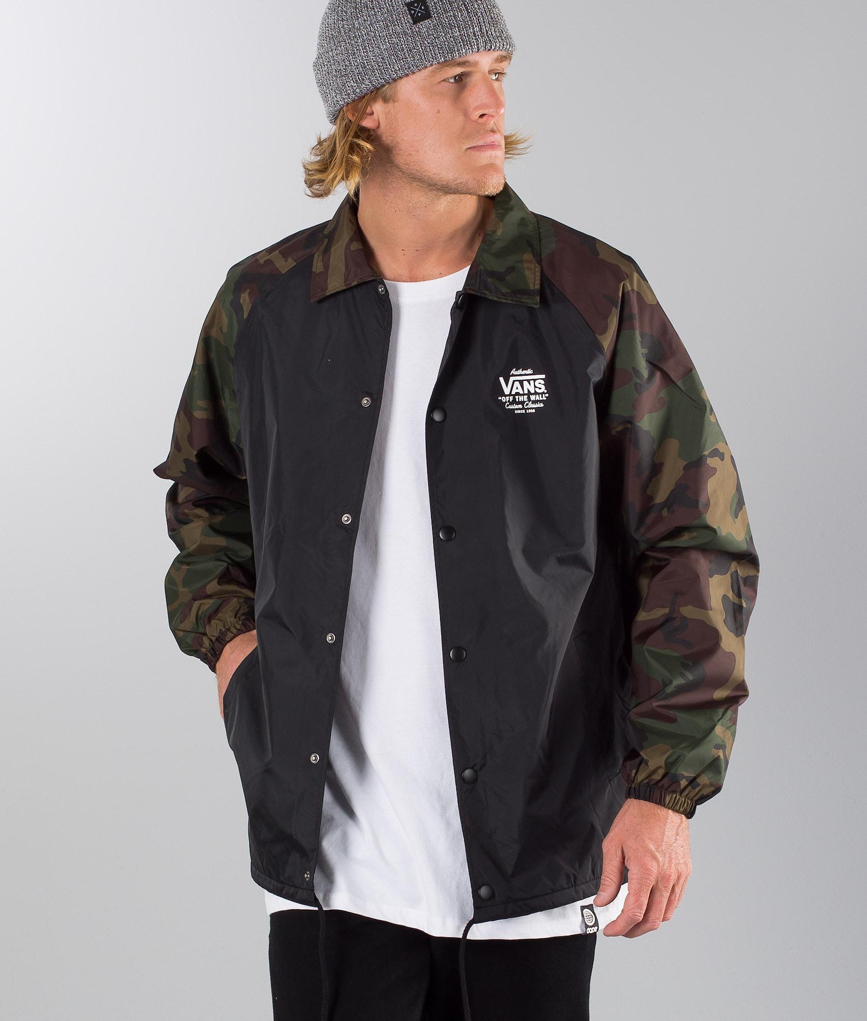 adb7a1d461 Vans Torrey Jacket Black-Camo - Ridestore.com