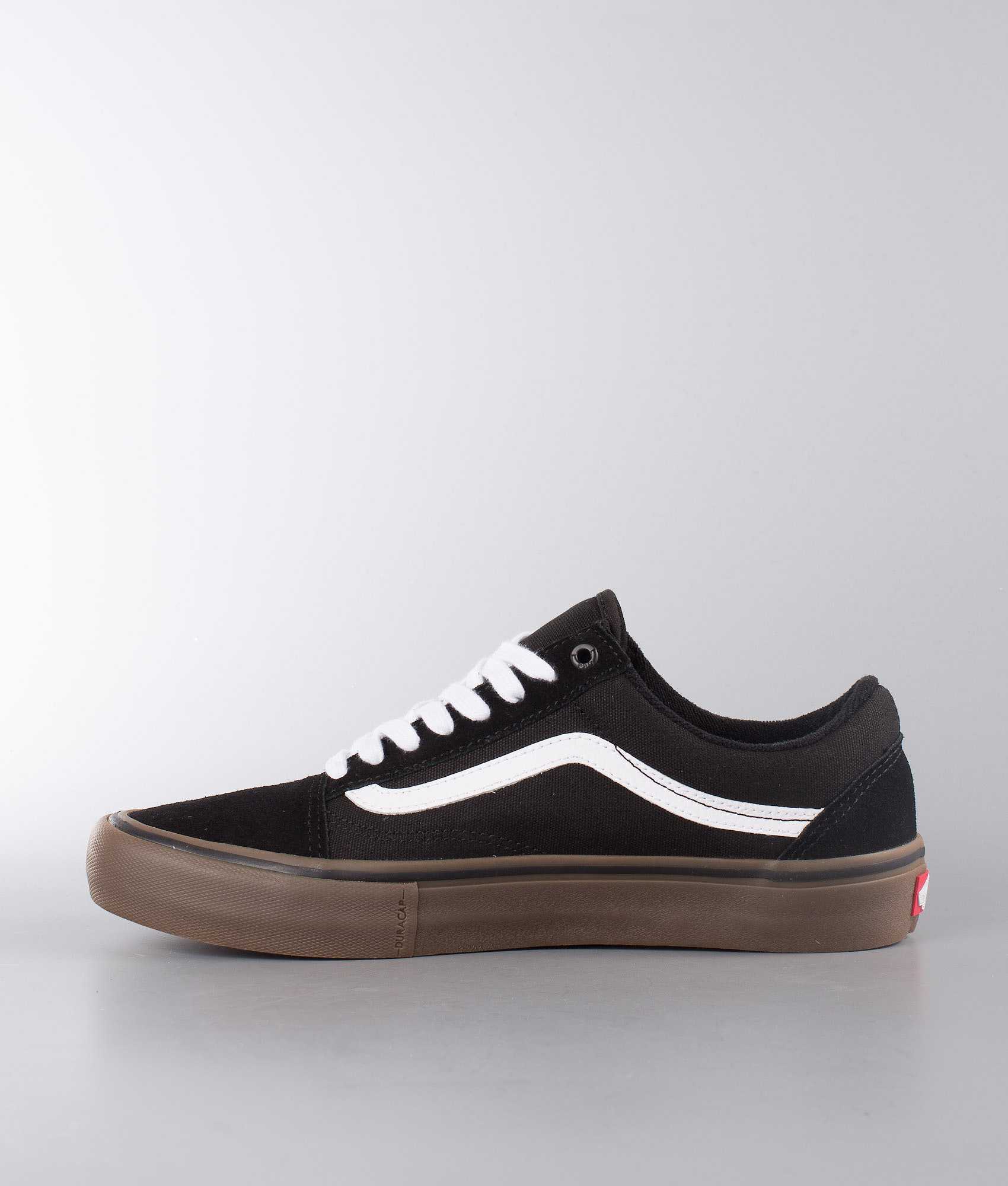 1322f86c1f0 Vans Old Skool Pro Shoes Black White Medium Gum - Ridestore.com