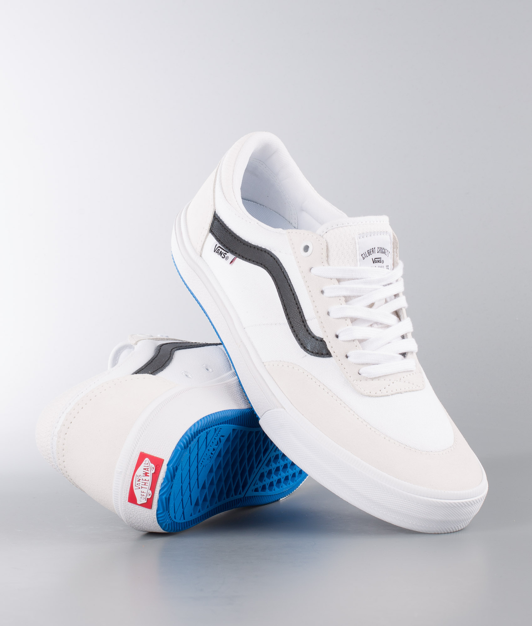 Vans Gilbert Crockett 2 Pro Shoes True White/Black - Ridestore.com