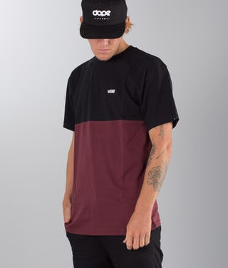 63798a18 Vans Colorblock T-shirt Port Royale-Black