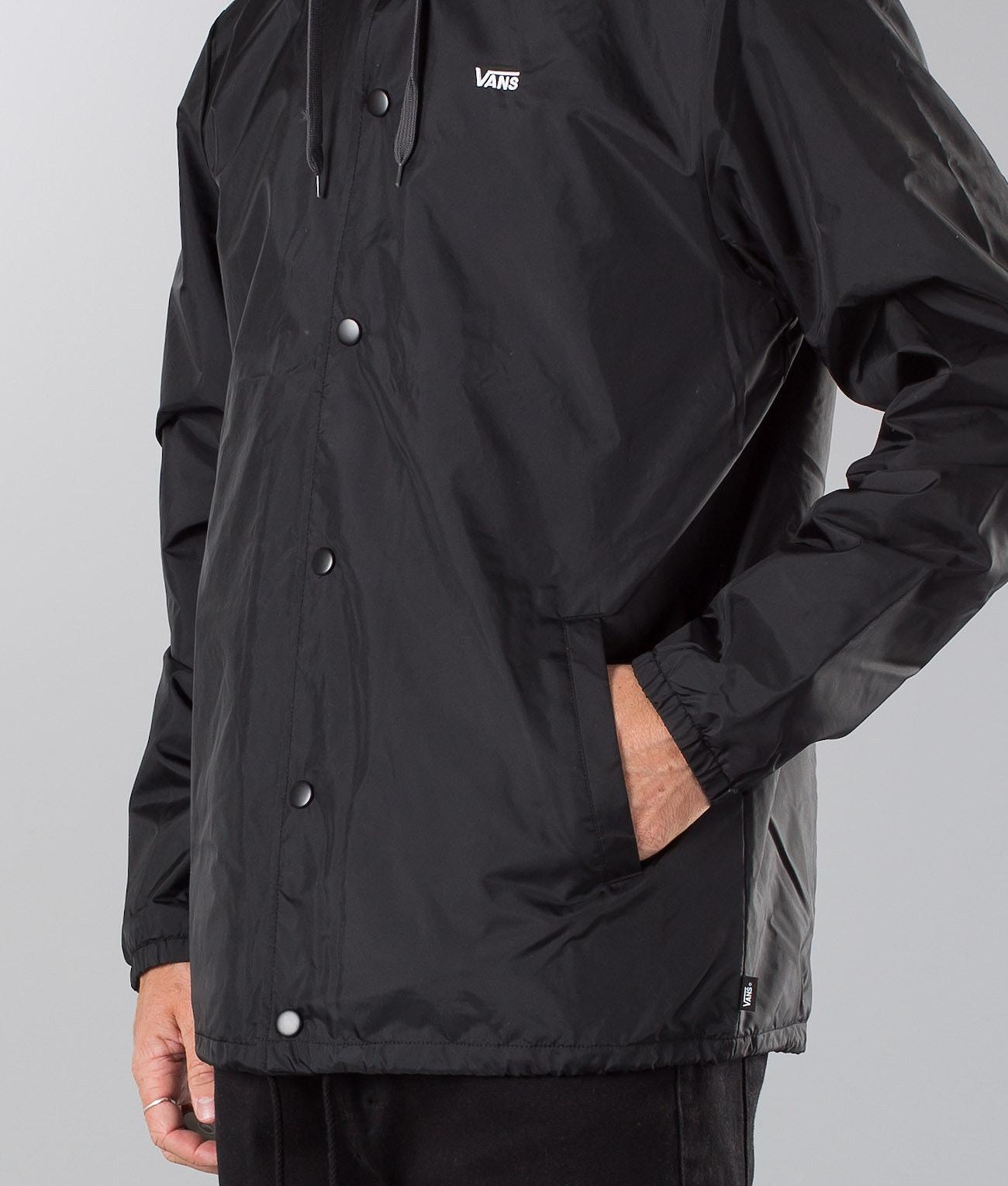 faab4345073f39 Vans Riley Jacket Black - Ridestore.com