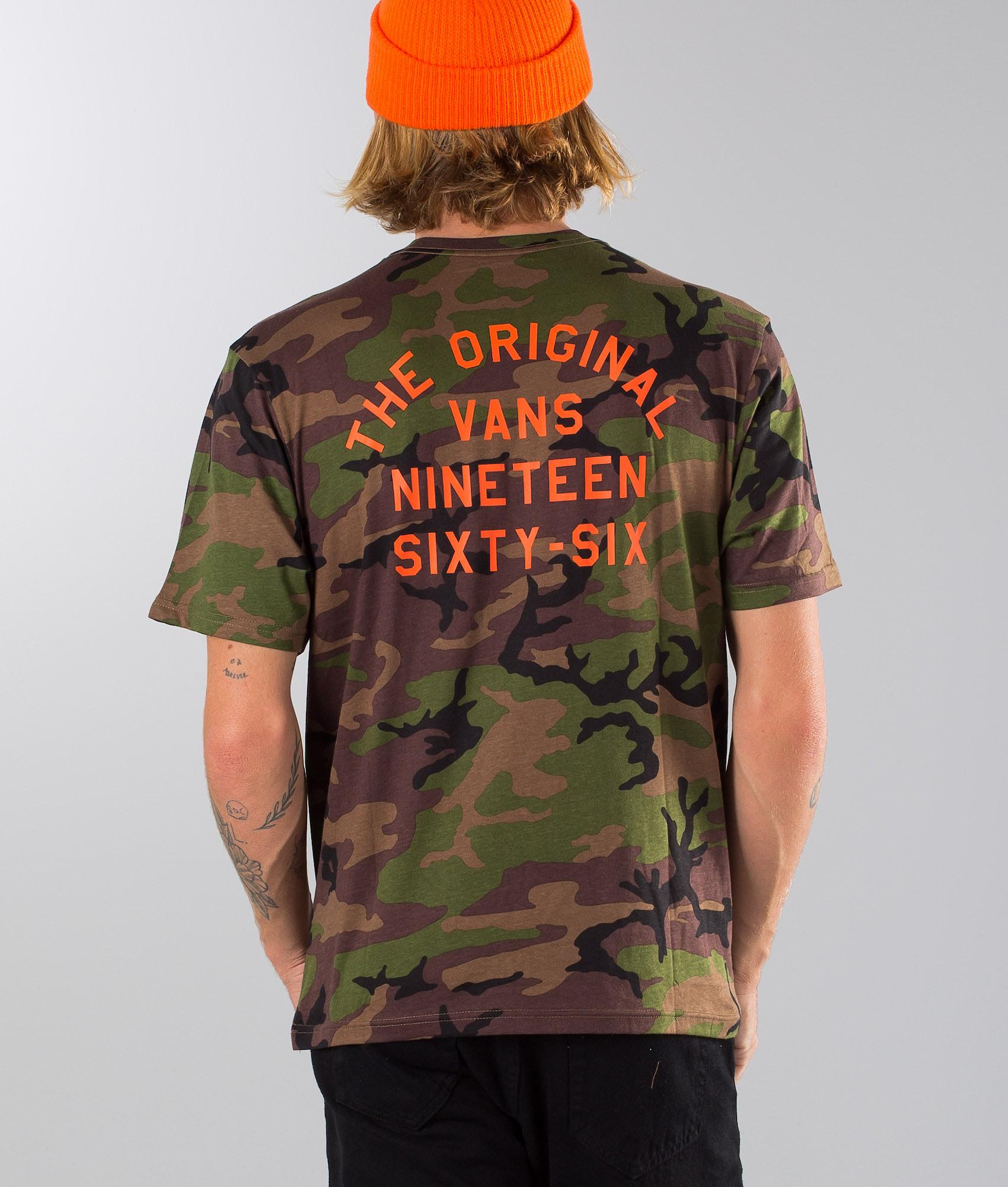 1e5300f9e Vans Spring Training T-shirt Camo - Ridestore.com