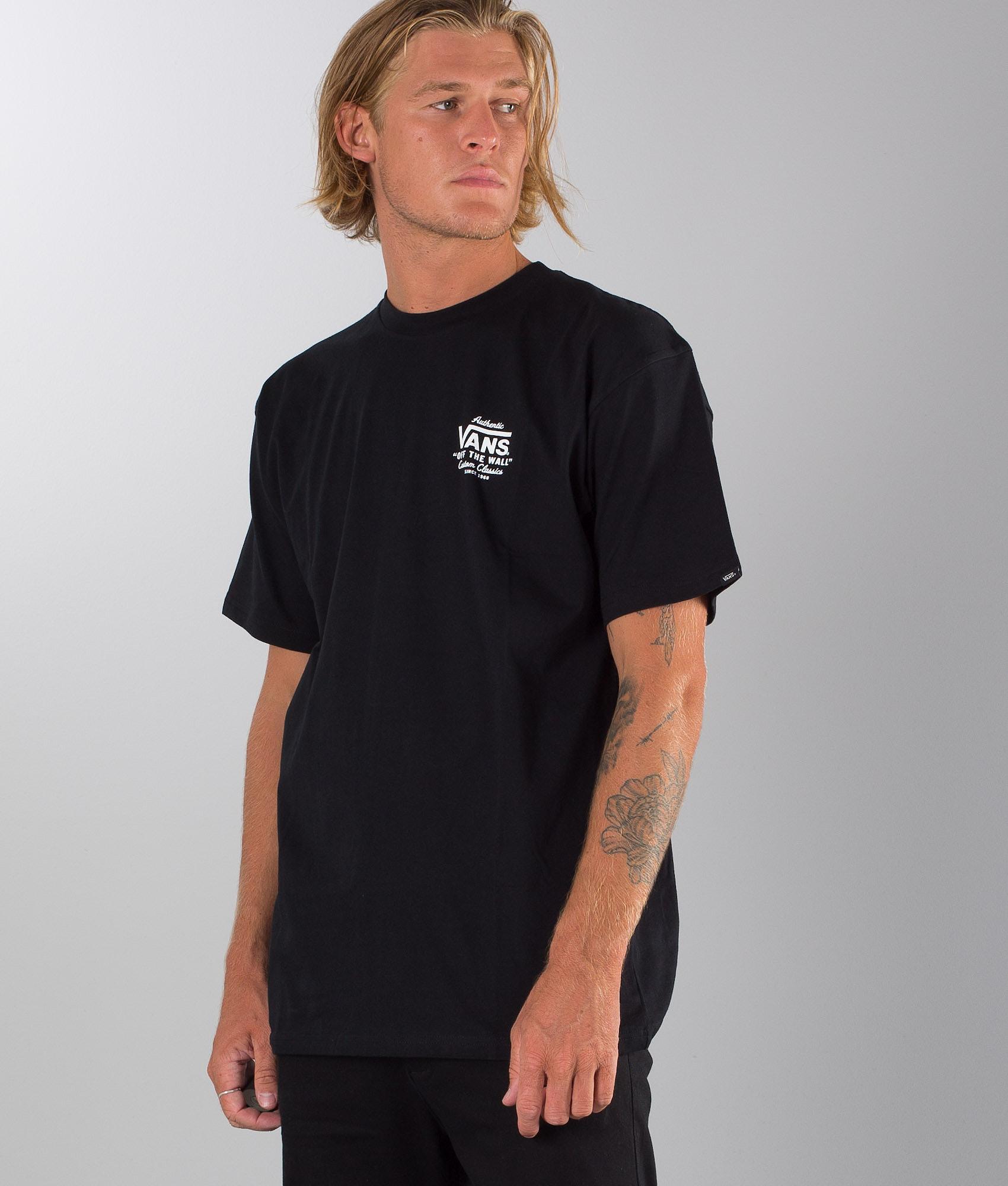 e90830e67ef481 Vans Holder St Classic T-shirt Black - Ridestore.com