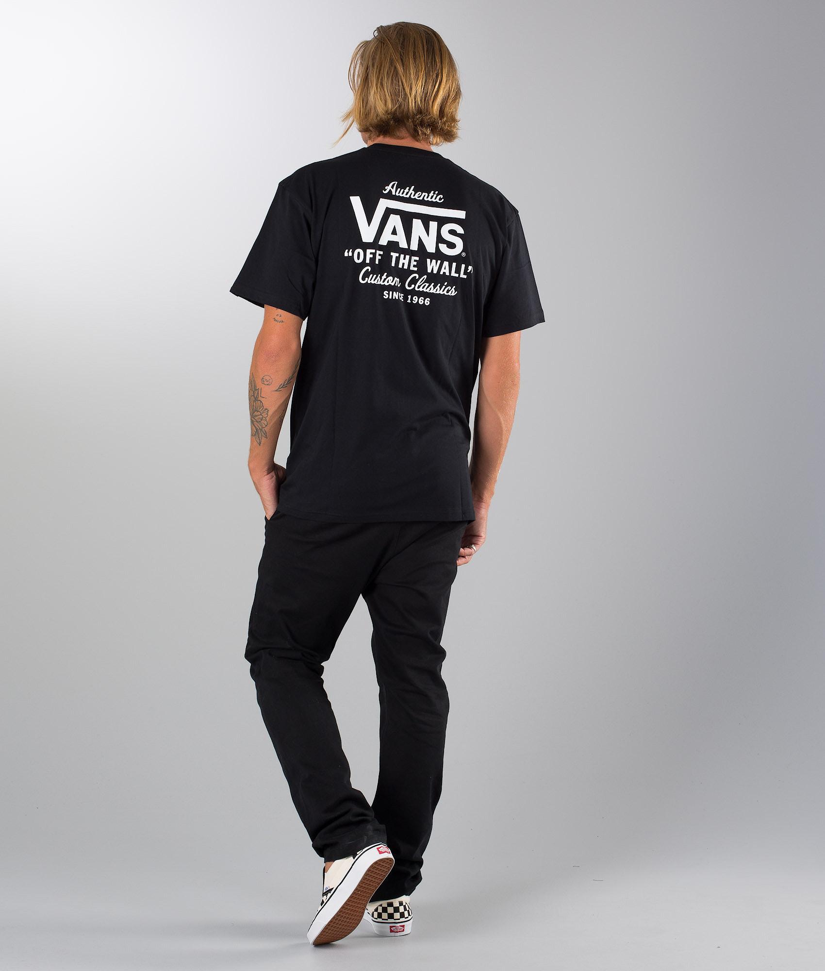 Vans Holder St Classic T-shirt Black - Ridestore.com 5723ee6072