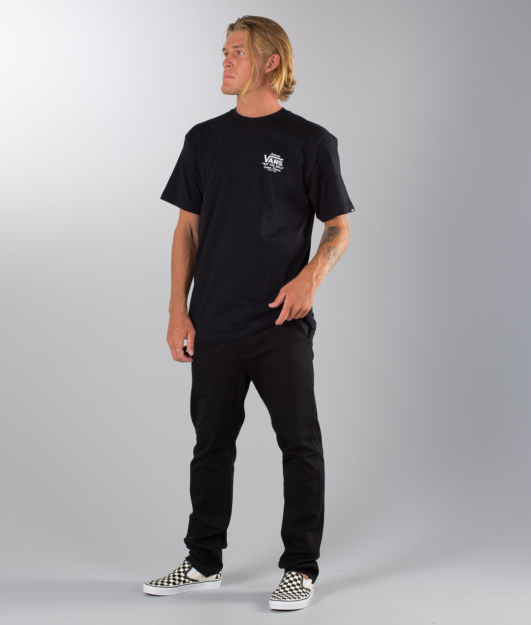 8663317529 Vans Holder St Classic T-shirt Black - Ridestore.com