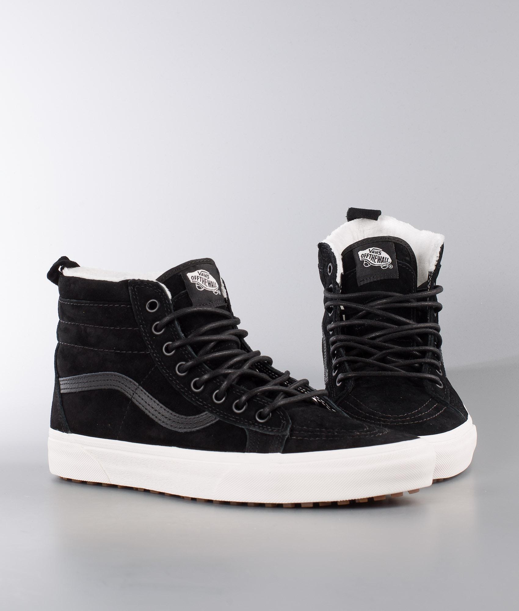 7838bee959e Vans Sk8-Hi Mte Shoes (Mte) Black Black Marshmallow - Ridestore.com