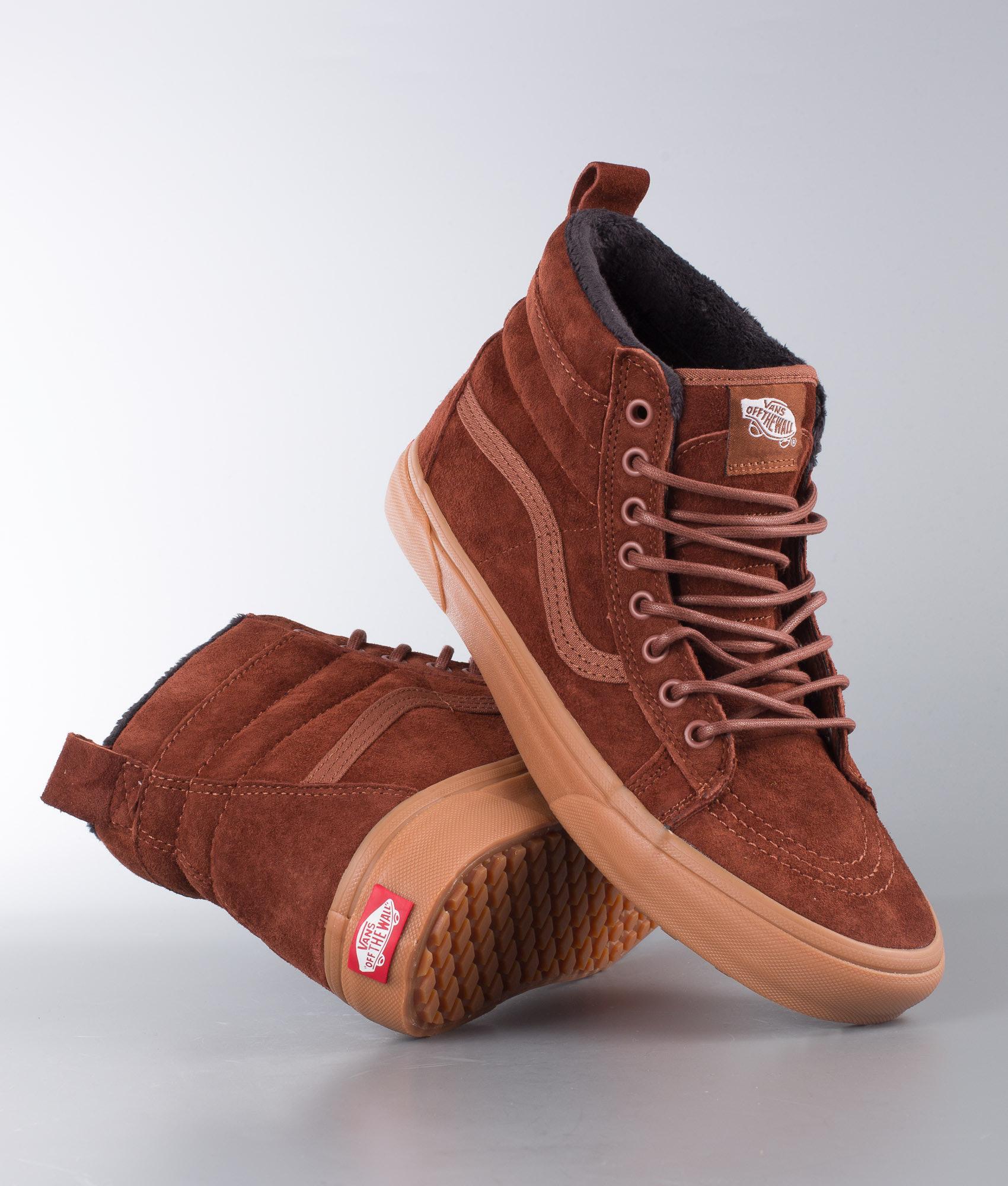 Vans Sk8-Hi Mte Shoes (Mte) Sequoia Gum - Ridestore.com 30f54f12cda