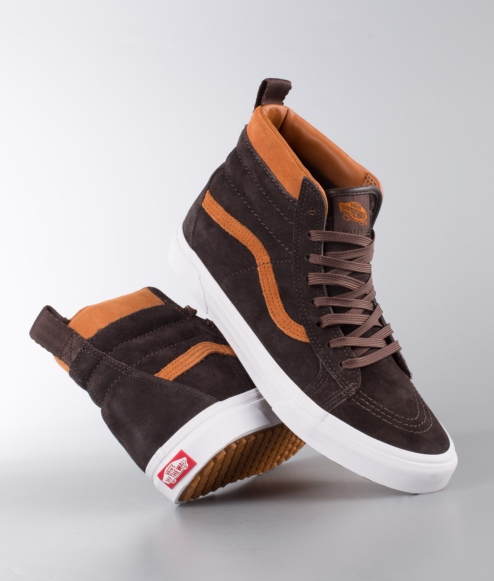 Vans Sk8-Hi Mte Shoes (Mte) Suede/Chocolate Torte