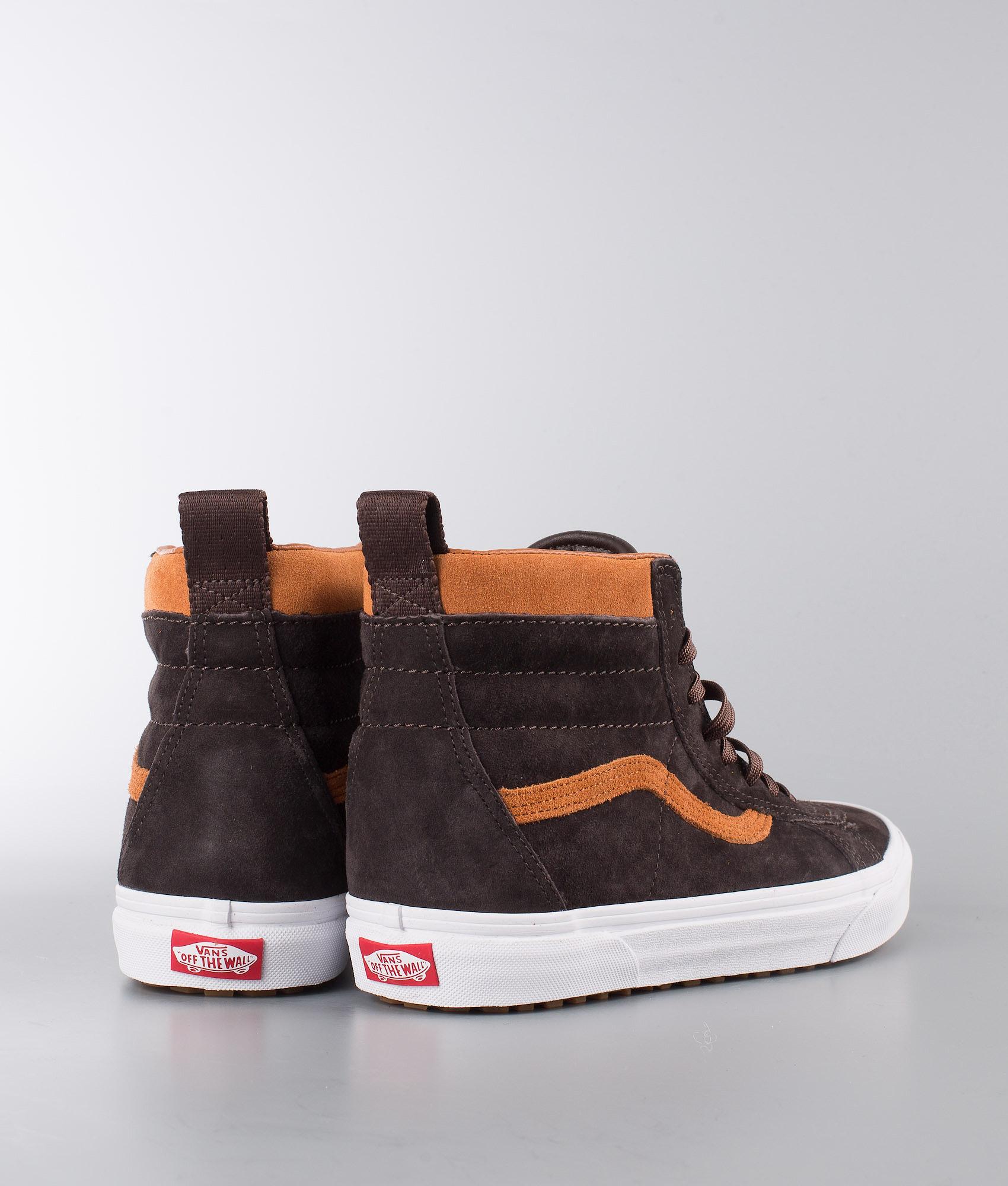 c5f013dc3f7ac Vans Sk8-Hi Mte Shoes (Mte) Suede/Chocolate Torte