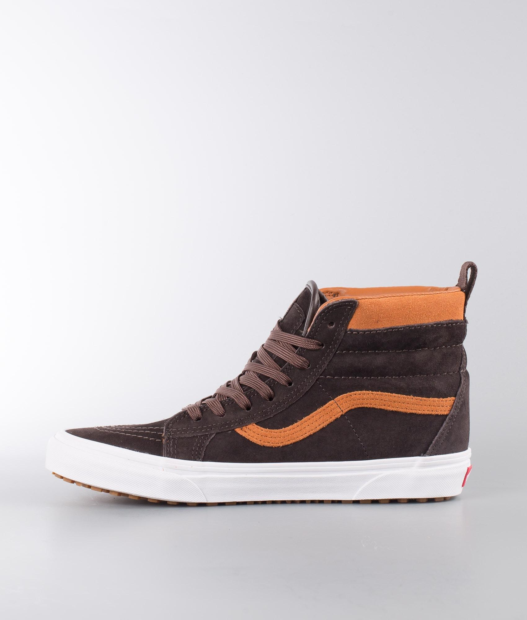e673ba69e5 Vans Sk8-Hi Mte Shoes (Mte) Suede Chocolate Torte - Ridestore.com
