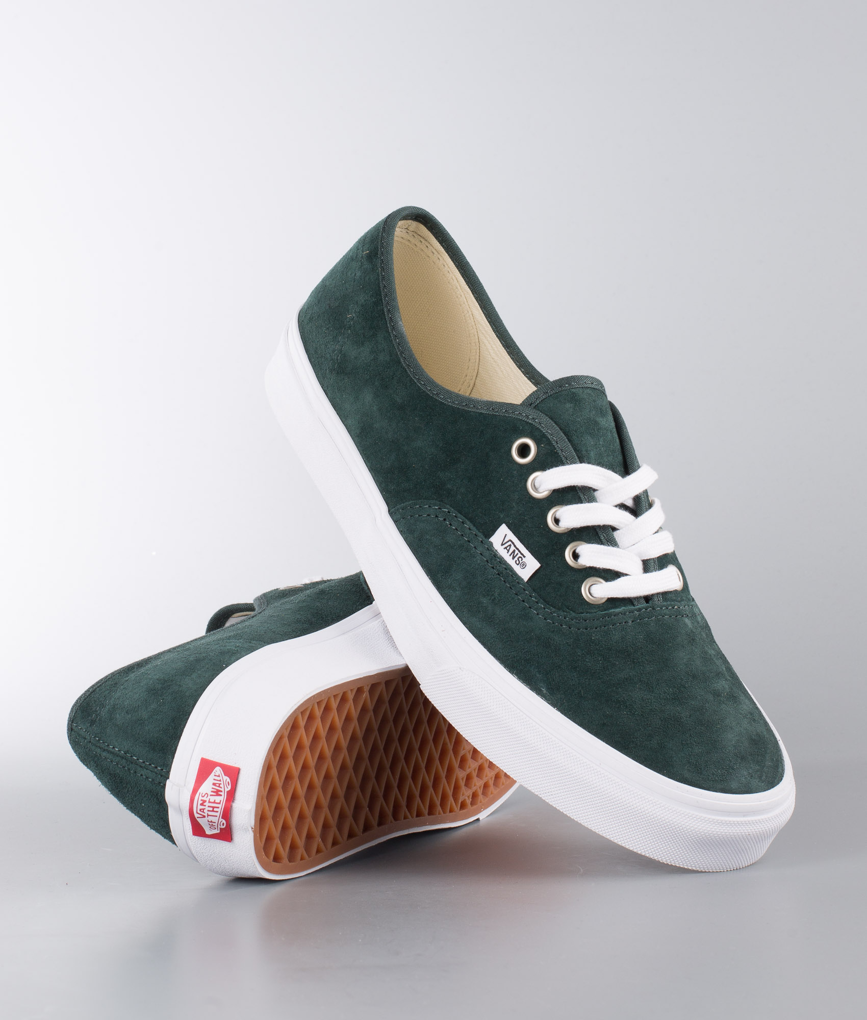 vans authentic verde militare