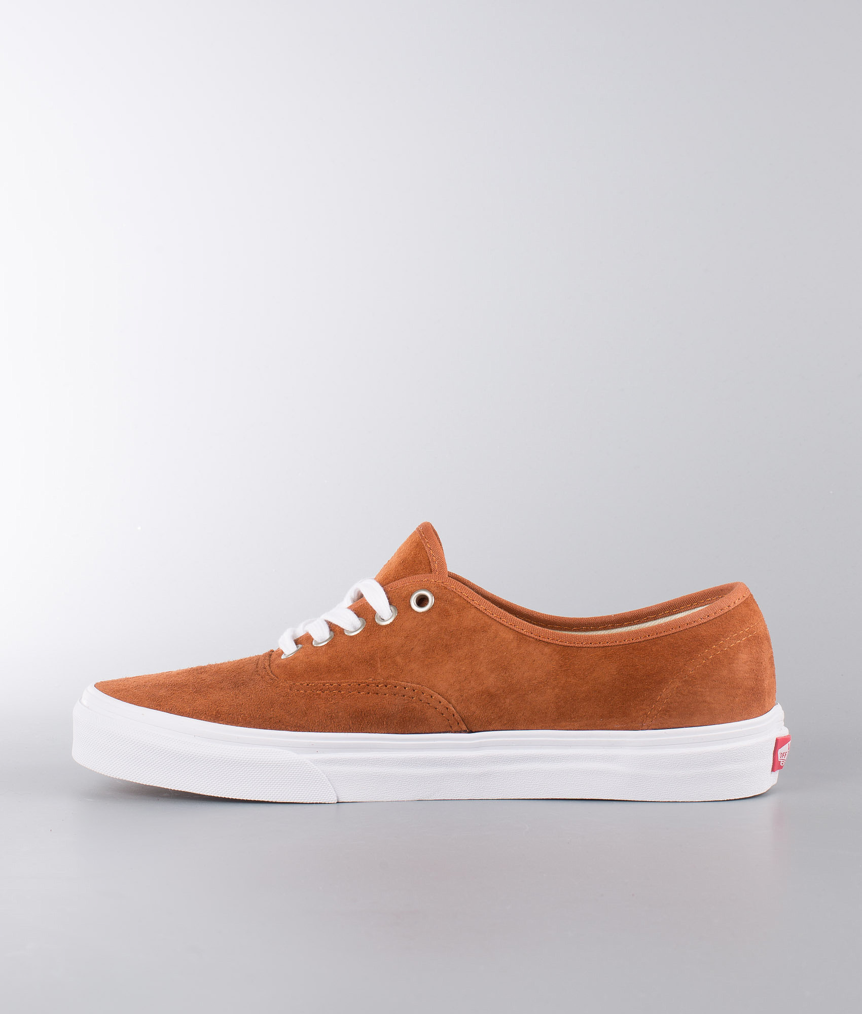 Vans Authentic Shoes (Pig Suede) Leather Brown True White ... fdeb087bf