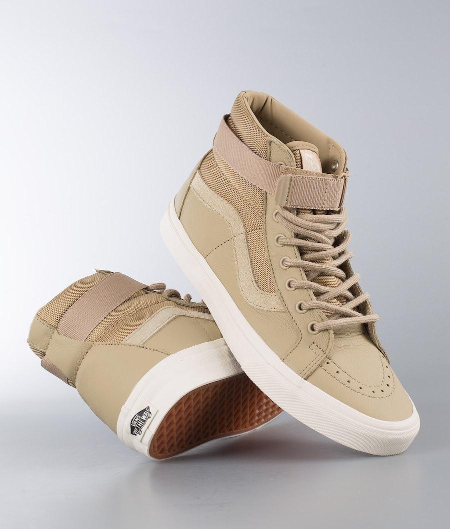 Vans Sk8-Hi Reissue Strap Skor (Leather) Ballistic/Cornstalk