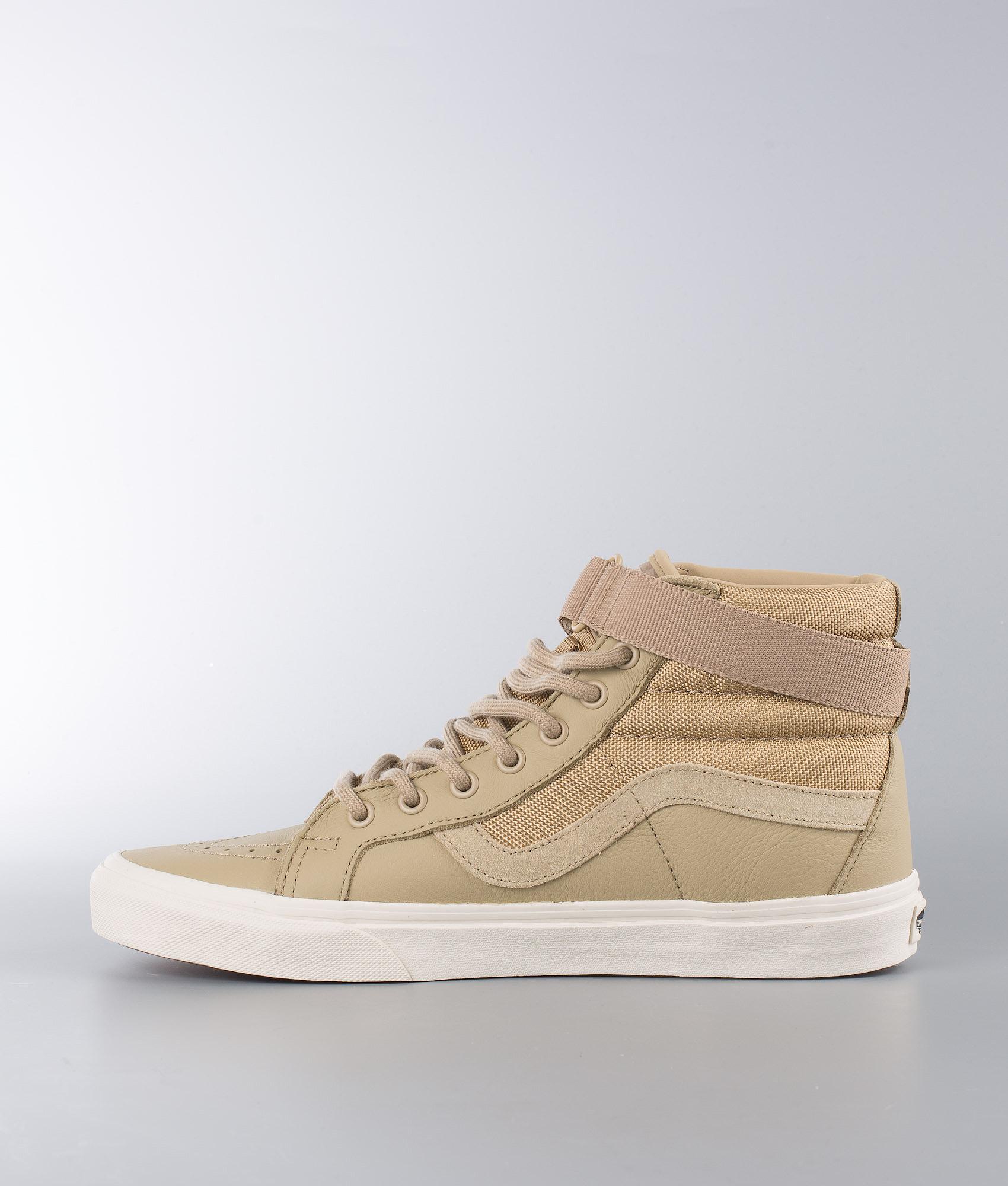 19b98233c63bde Vans Sk8-Hi Reissue Strap Shoes (Leather) Ballistic Cornstalk ...