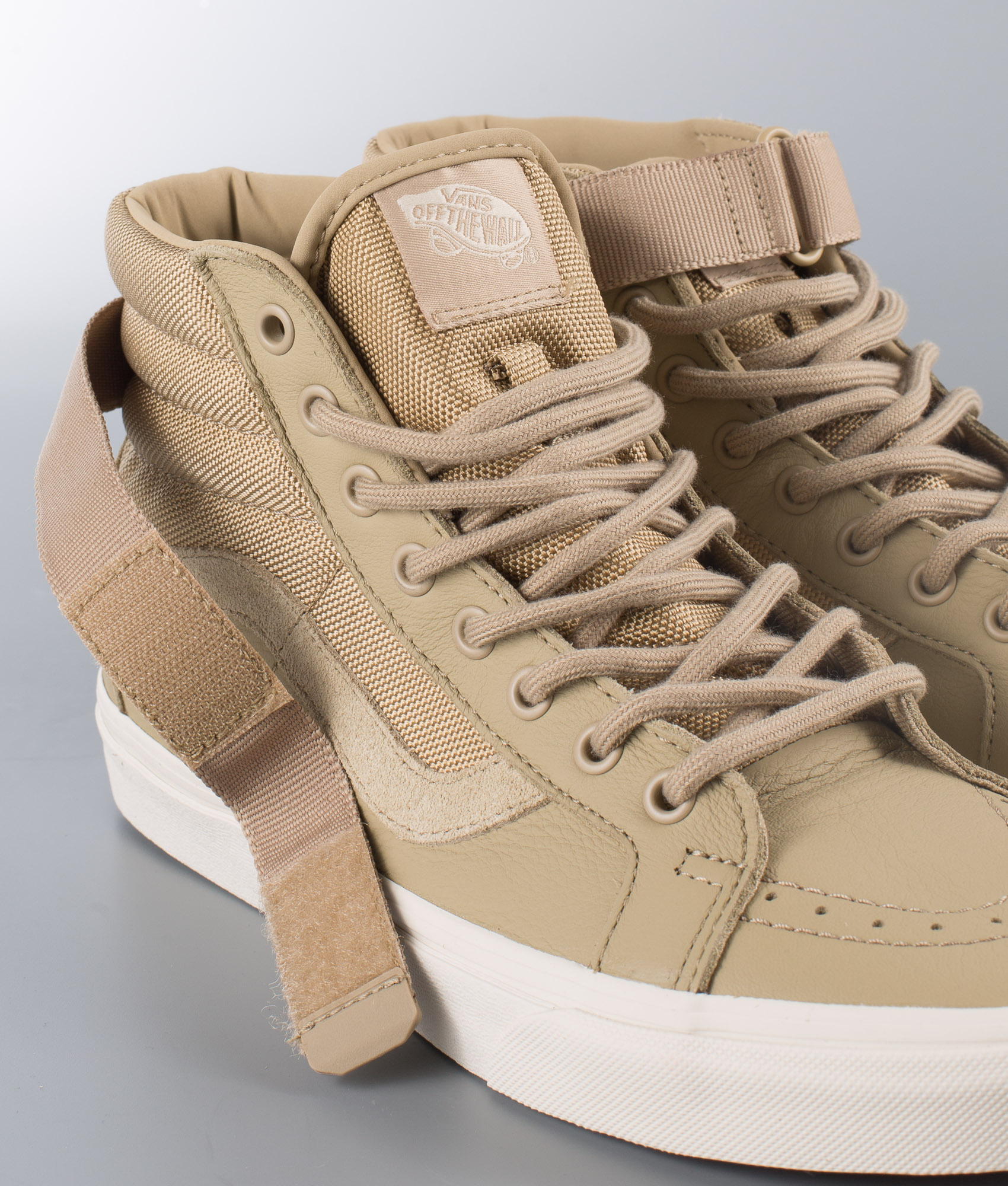 Vans Sk8-Hi Reissue Strap Shoes (Leather) Ballistic/Cornstalk