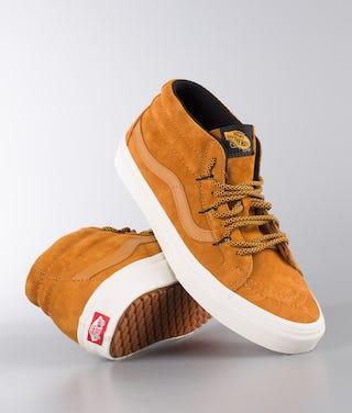 9ea7de6f Vans Sk8-Mid Reissue Ghillie Mte Shoes (Mte) Sudan Brown/Marshmallow