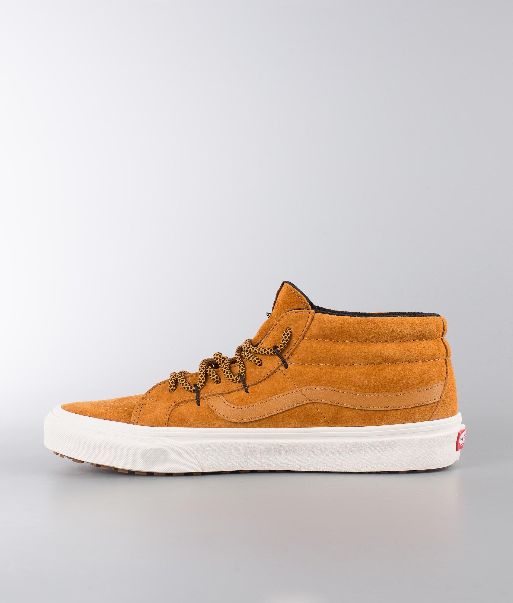 f765d366b9 Vans Sk8-Mid Reissue Ghillie Mte Shoes (Mte) Sudan Brown Marshmallow ...