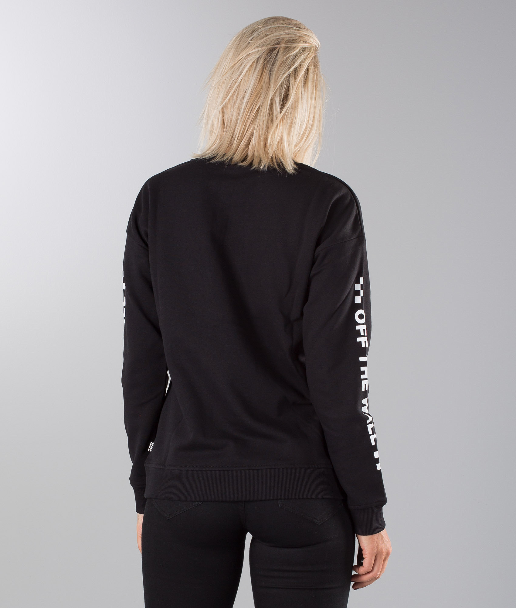 2502b4b0b6 Vans Too Much Fun Sweater Black - Ridestore.com