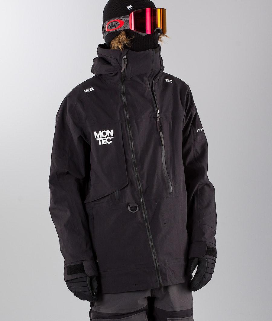 Montec Mount Giacca da snowboard Black