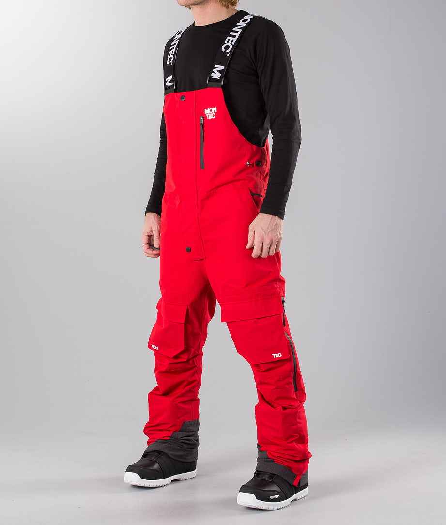 Montec Fawk Snow Pants Red
