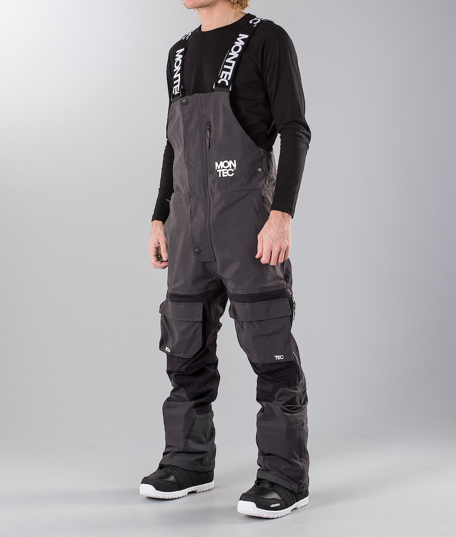 Montec Mount Snow Pants Dark Grey