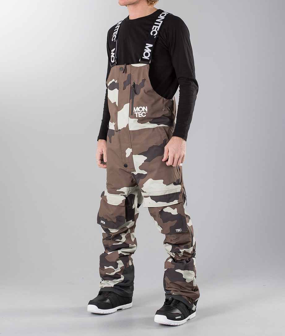 Montec Mount Snow Pants Earth Camo
