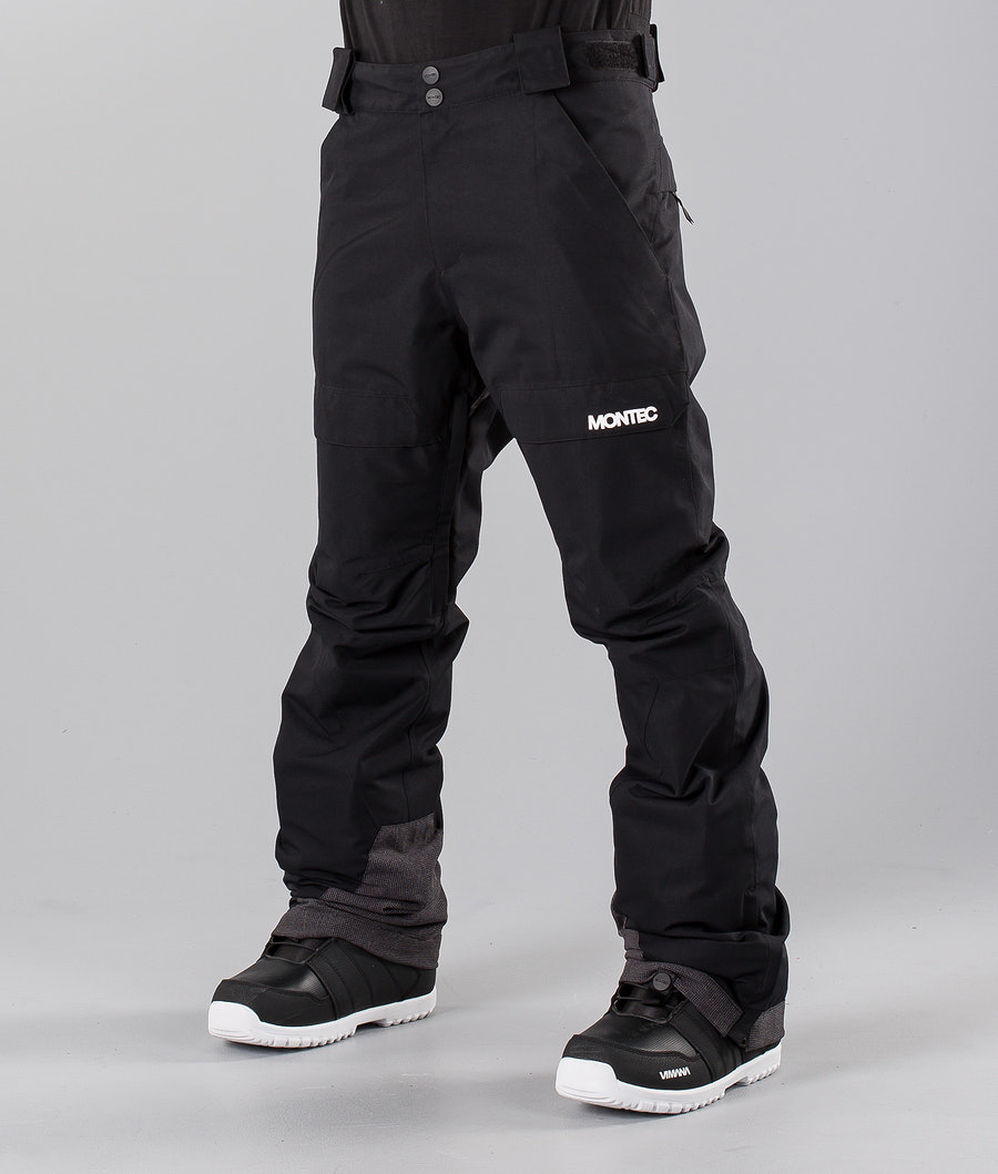Montec Dune 19 Pantalon de Snowboard Black