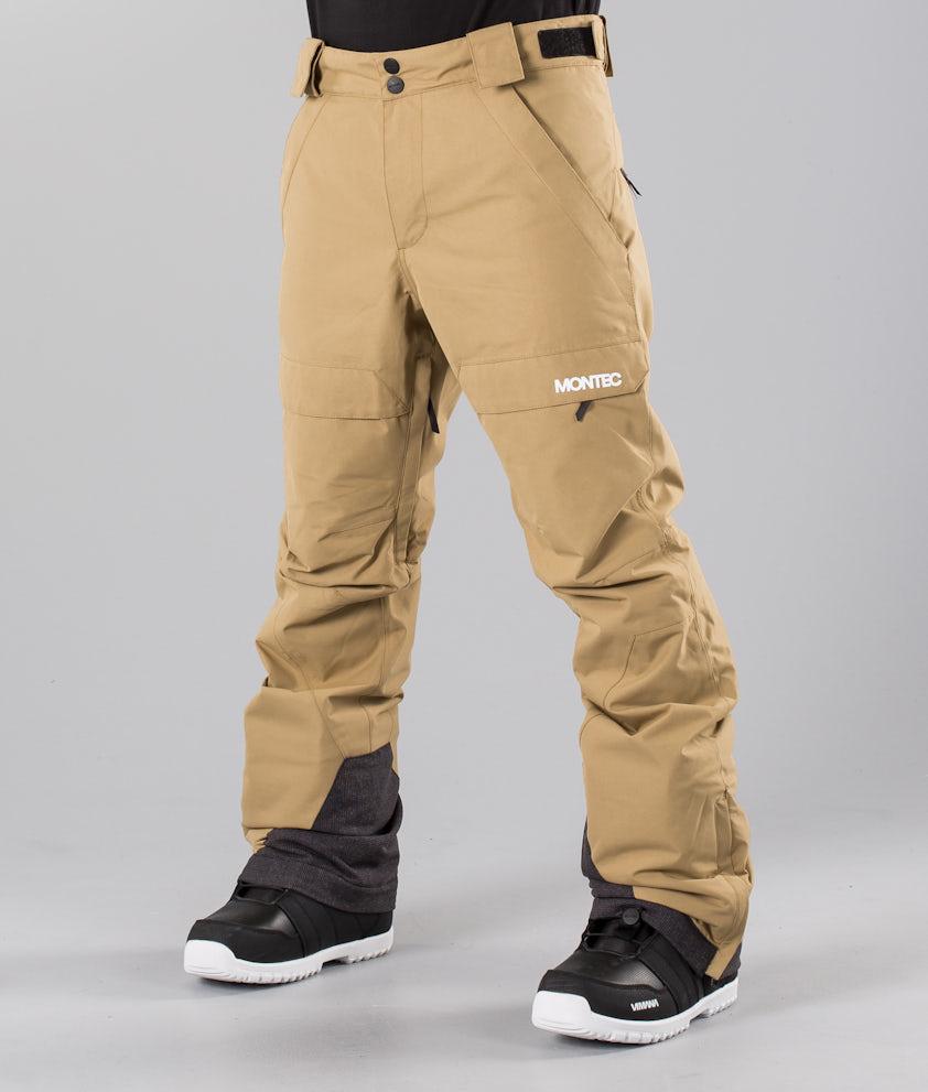 Montec Dune Pantalon de Snowboard Khaki