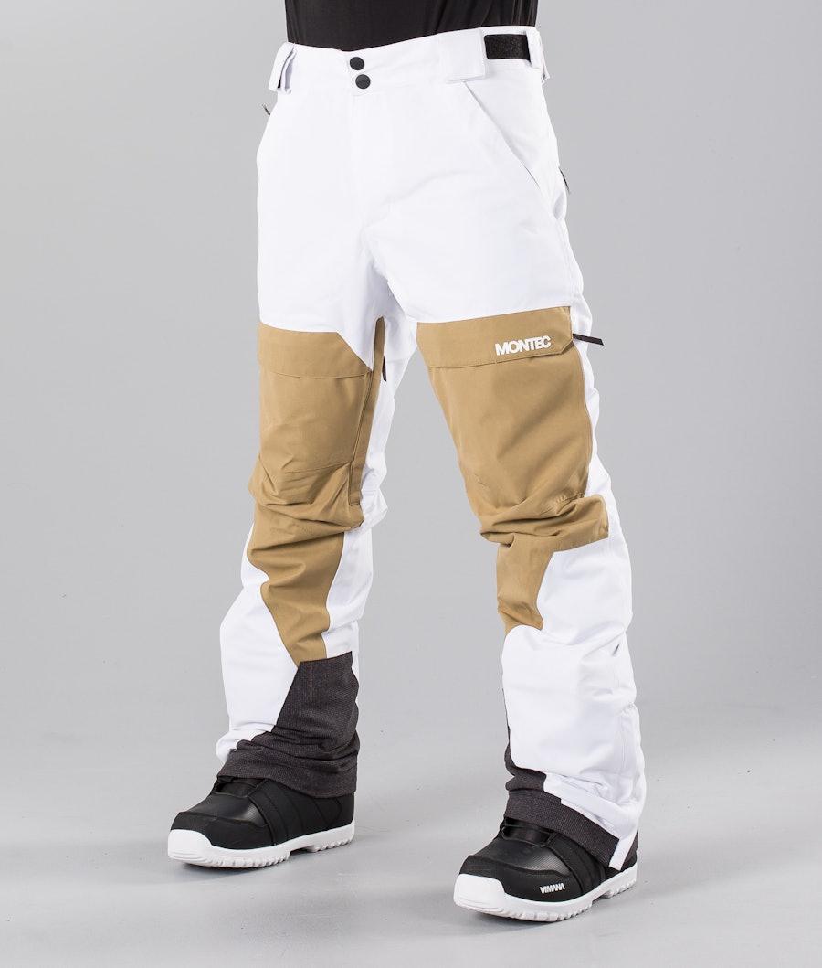 Montec Dune Snowboardbyxa White Khaki