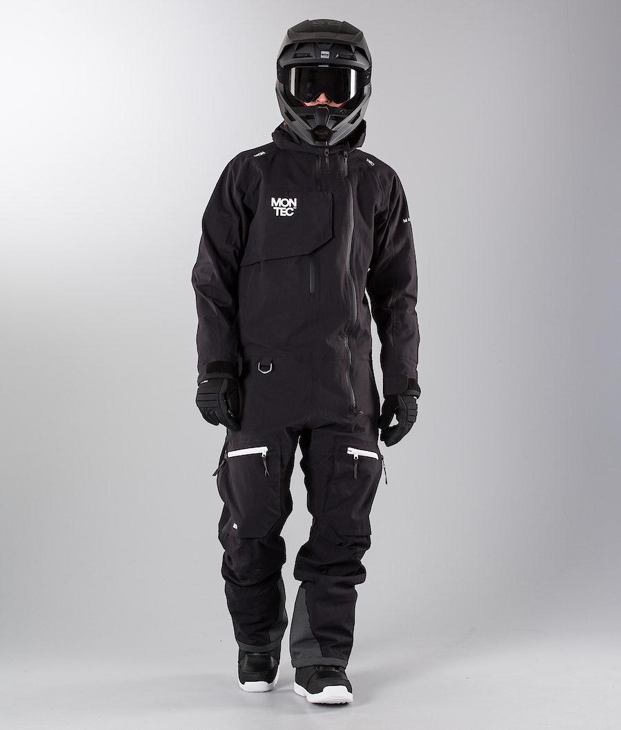 Montec Next Monosuit Black