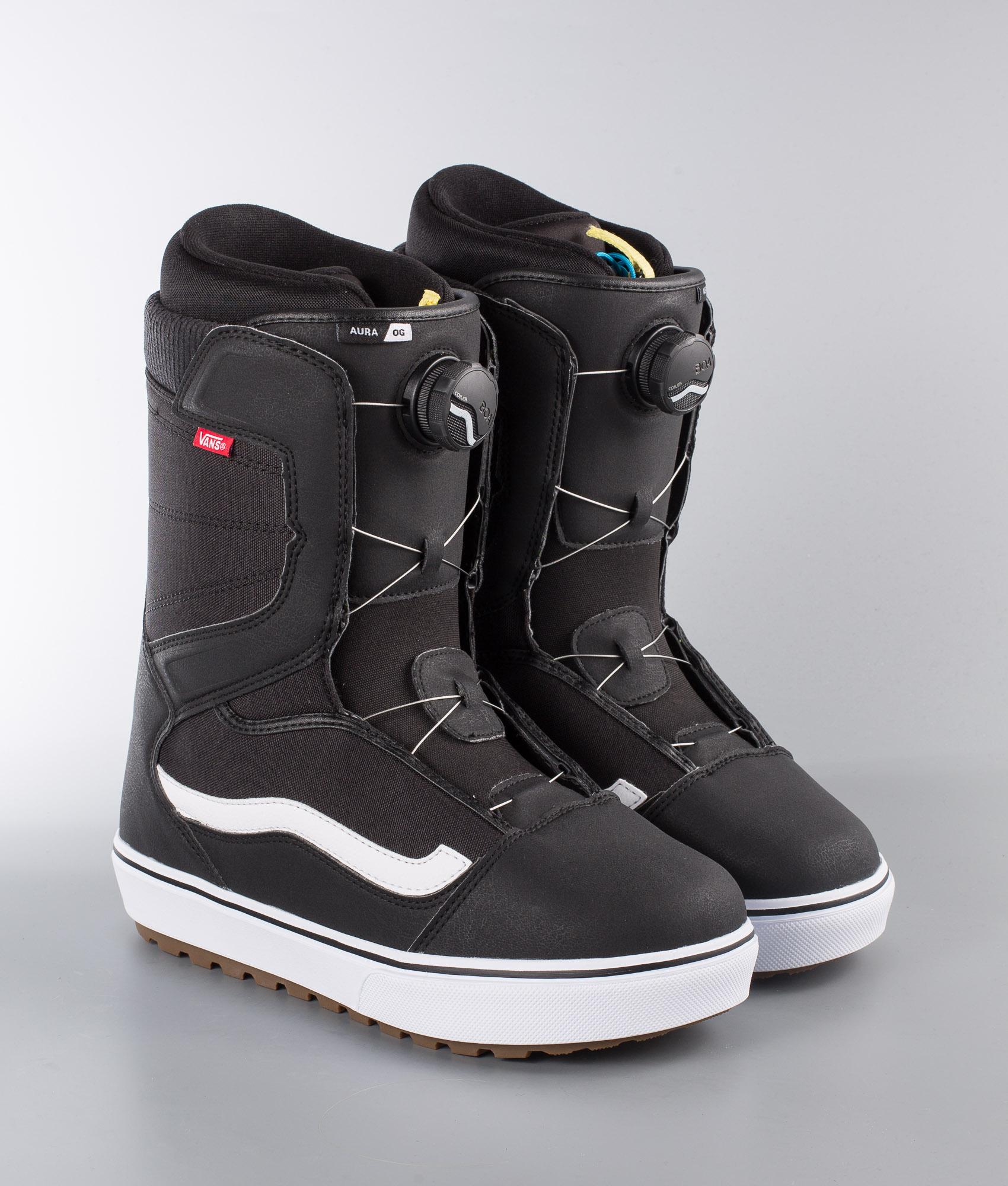 Vans Aura OG Snow Boots BlackWhite