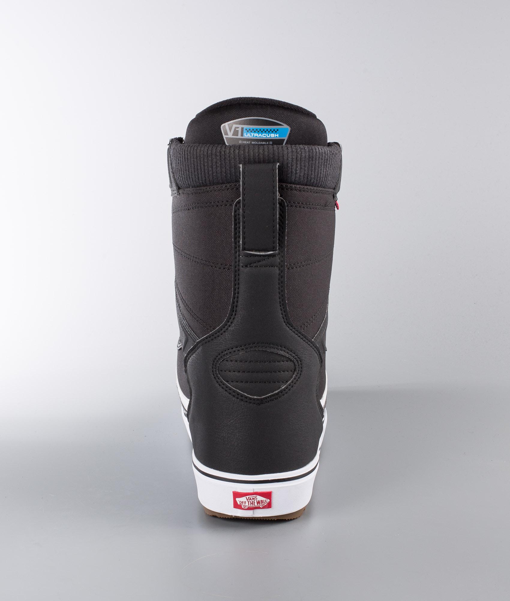 9816190e53 Vans Aura OG Snowboard Boots Black White - Ridestore.com
