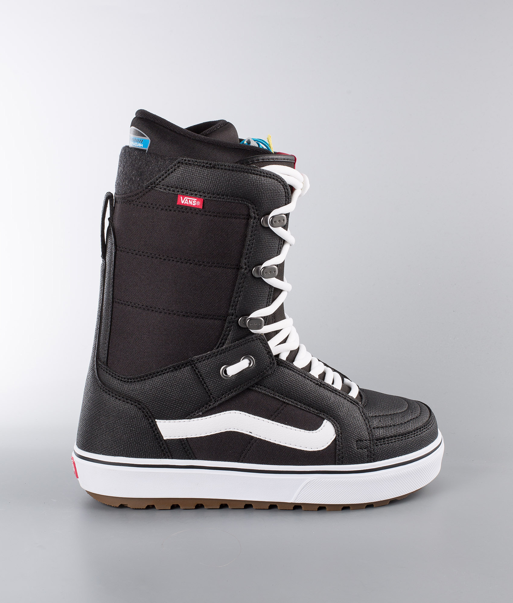 4541d4d649 Vans Hi-Standard OG Snowboard Boots Black White - Ridestore.com