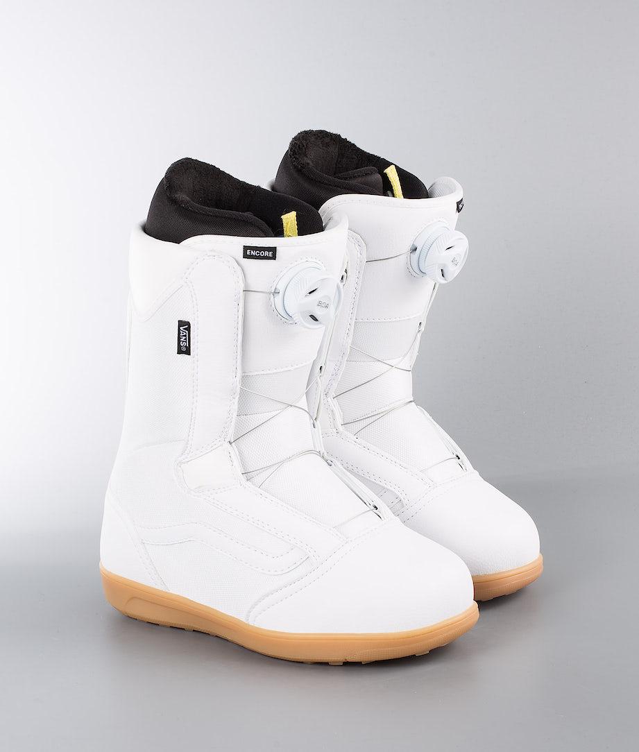 Vans Encore W Snowboard Boots White/Gum
