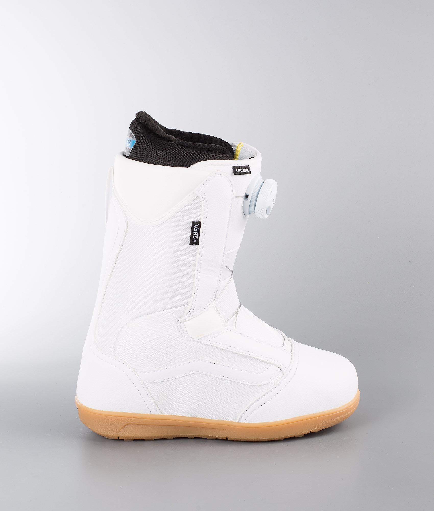 0725a01ae4 Vans Encore W Snowboard Boots White Gum - Ridestore.com
