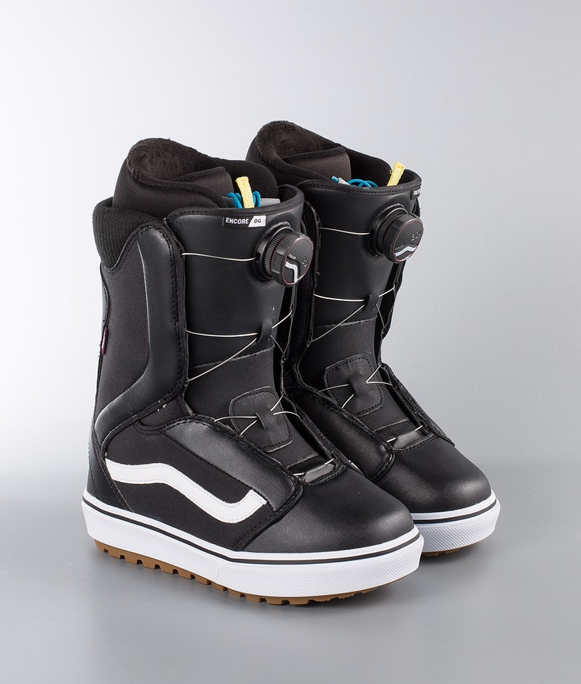 Vans Snowboarding Encore OG W Snowboard Boots Black/White