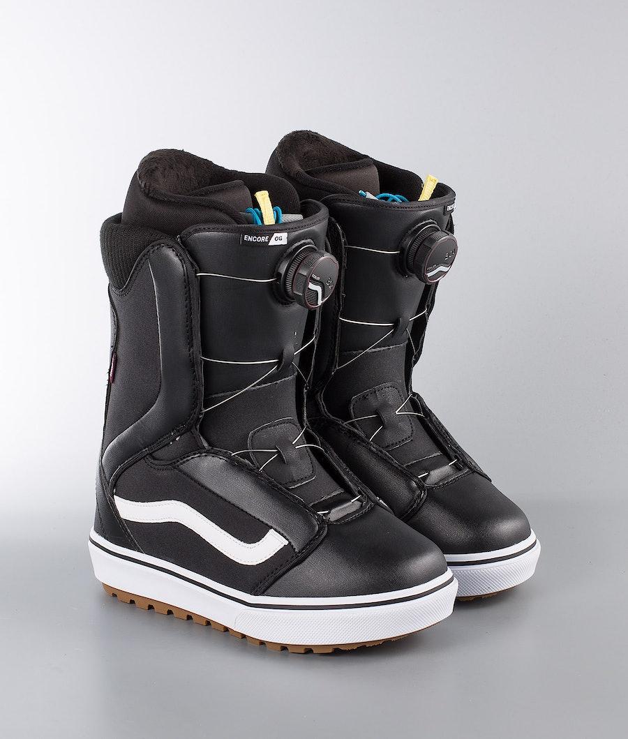 Vans Snowboarding Encore OG W Women's Snowboard Boots Black/White