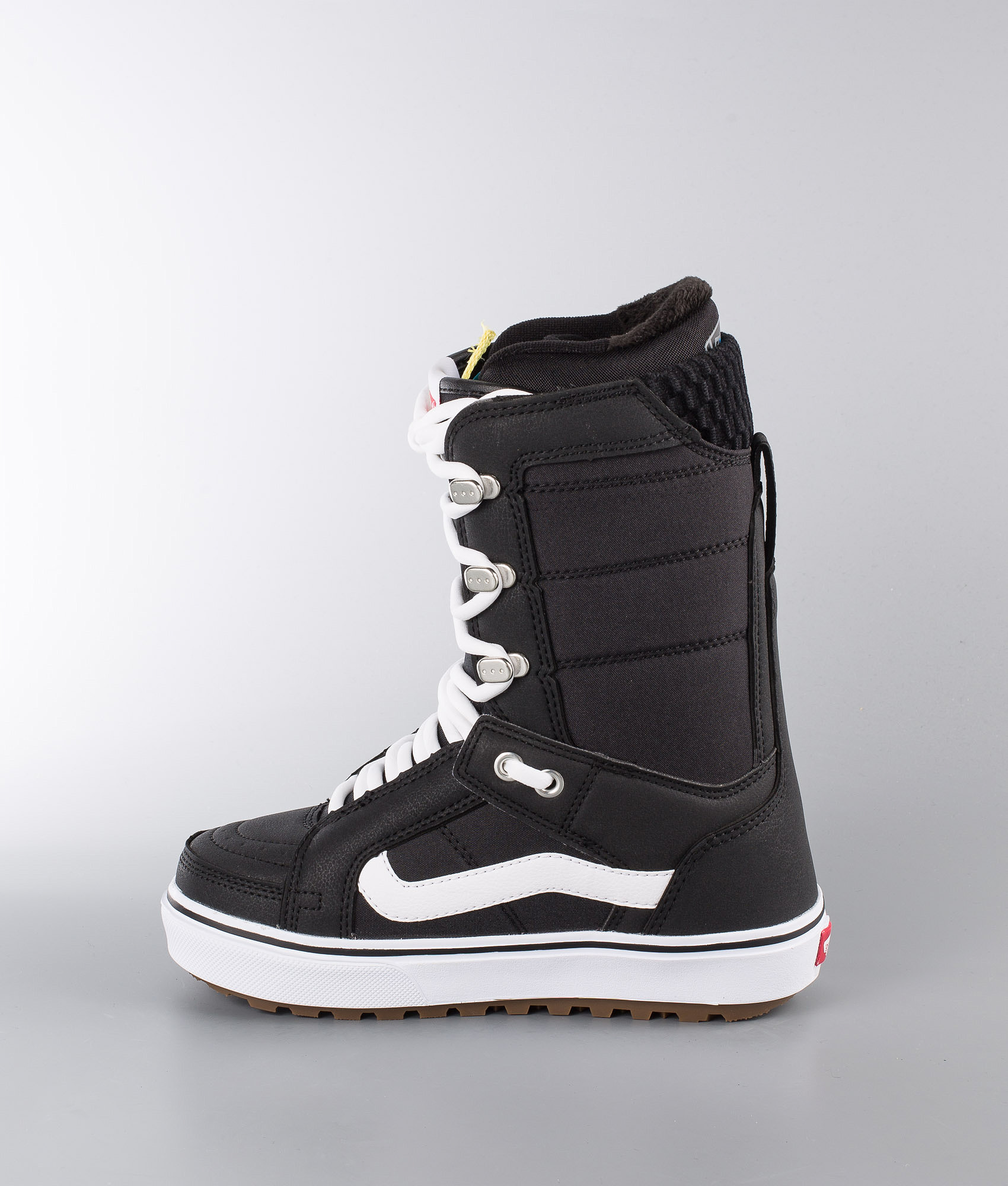 84acc1a20db8 Vans Hi-Standard OG W Snowboard Boots Black White - Ridestore.com