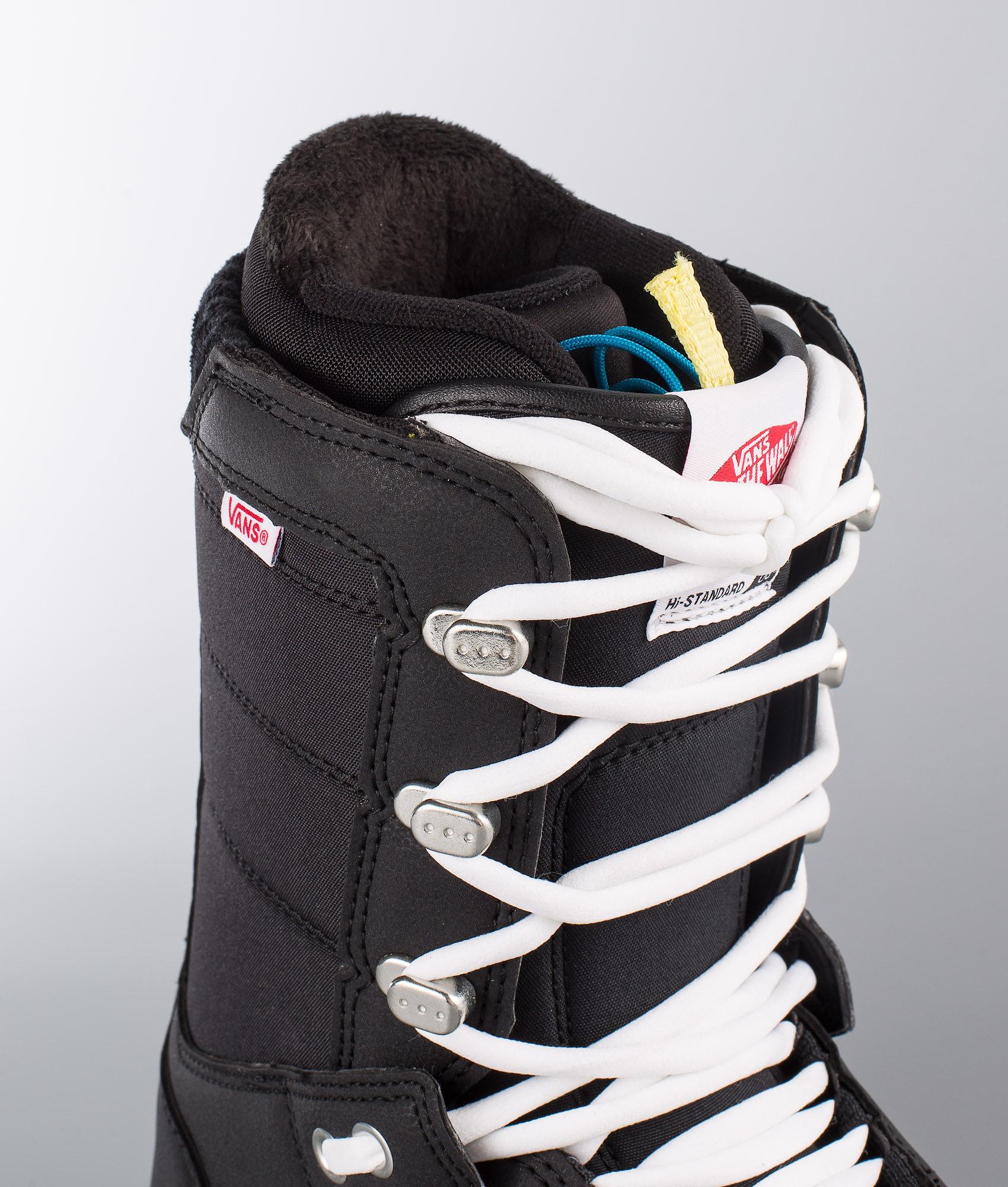 4f316cd7422a Vans Hi-Standard OG W Snowboard Boots Black White - Ridestore.com