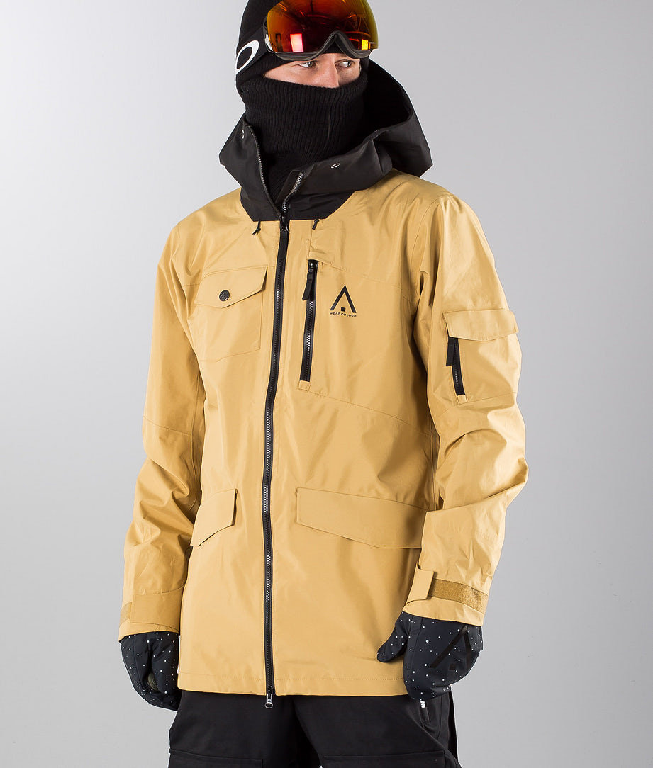 WearColour Hawk Snowboard Jacket Sand