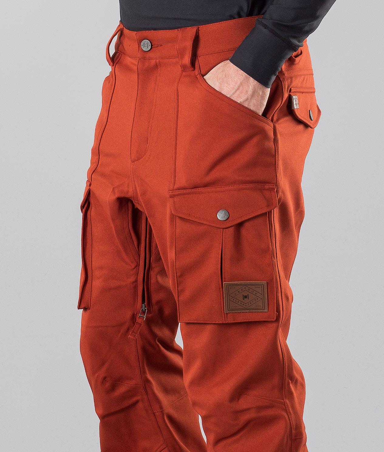 95cc4f1b L1 Slim Cargo Snow Pants Rust - Ridestore.com