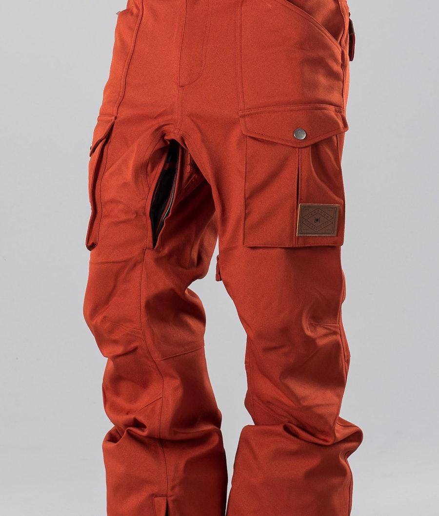L1 Slim Cargo Snow Pants Rust