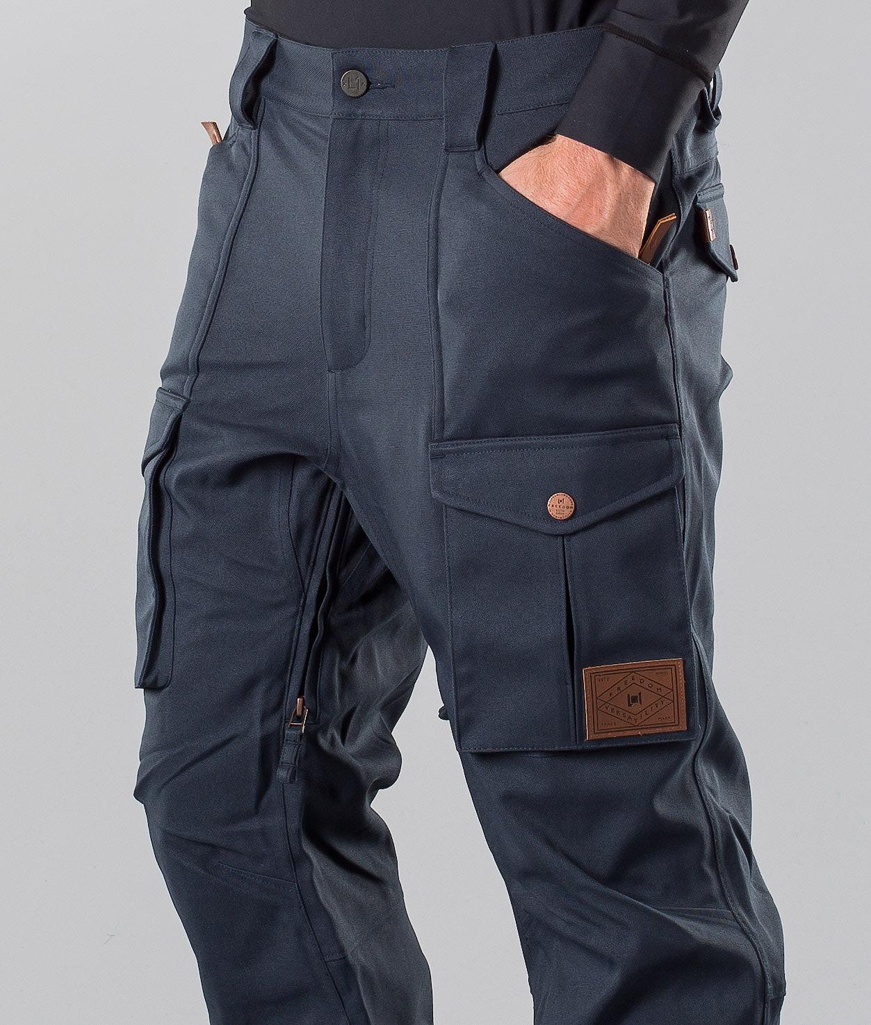 2dcd667c L1 Slim Cargo Snow Pants Ink - Ridestore.com