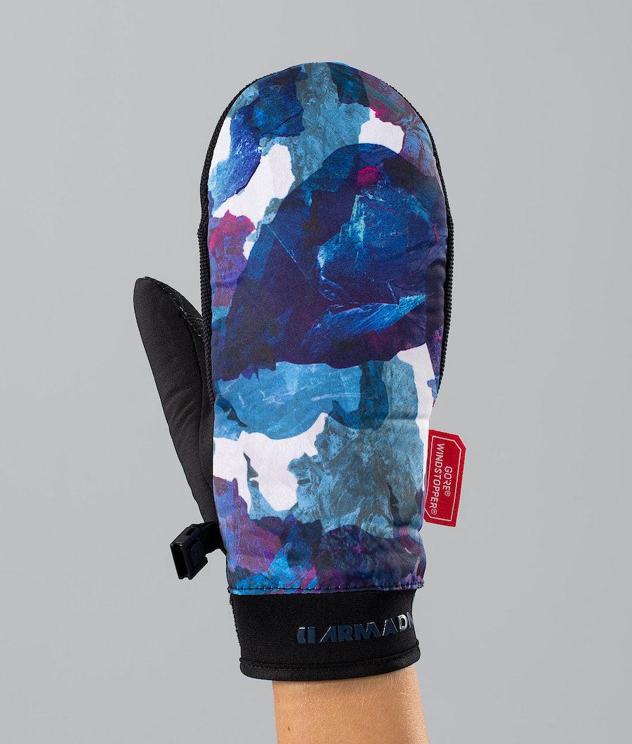 Armada Carmel Windstopper Skihandschuhe Ocean Lava