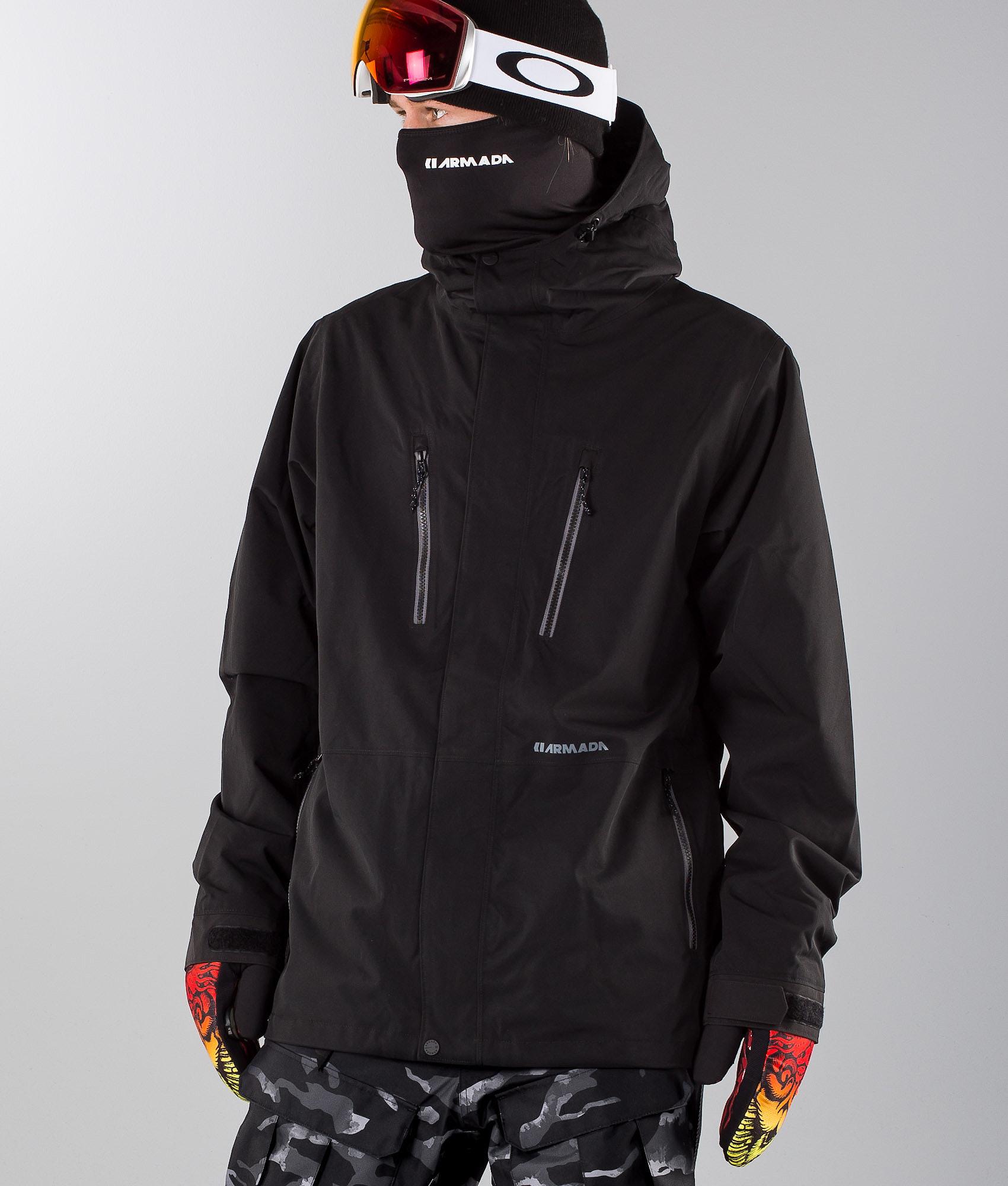 ce79def499 Armada Aspect Ski Jacket Black - Ridestore.com